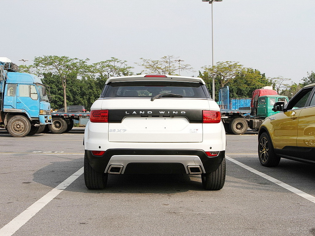 Clone Do Evoque Landwind X7 Causa Revolta Na Land Rover