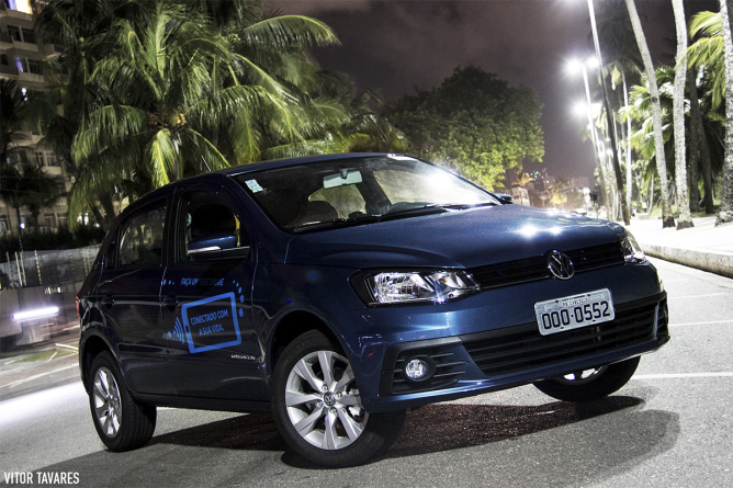 Avaliamos o Volkswagen Gol Connect 1.0 2017